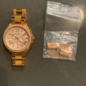 Fossil Watch - Rose Gold
